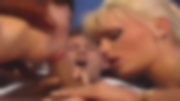 Introduction to hardcore orgy and lesbian fucking for a young widow