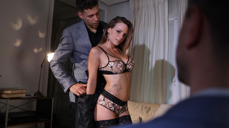 Tiffany Leiddi gets fucked in front of her husband