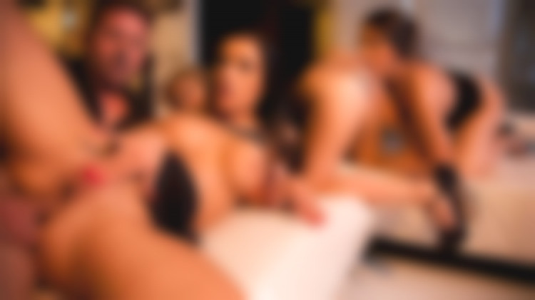Luxury orgy 100% anal