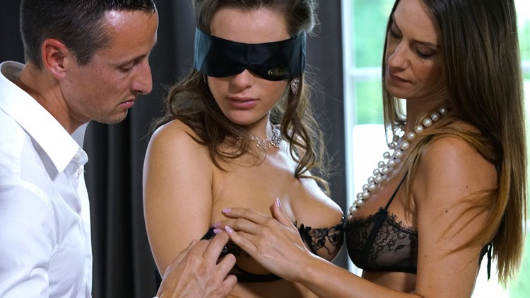 Lana Rhoades' initiation by Claire Castel